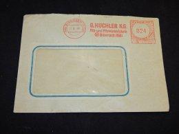 Germany 1948 Biberach G.Huchler Meter Mark Cover__(L-13055) - Deutschland