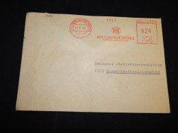 Germany 1948 Dortmund Huttenwerk Hörde Meter Mark Cover__(L-13550) - Sonstige