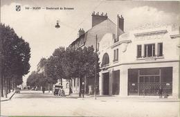 -- 21 --  DIJON -- BOULEVARD DES BROSSES - ANIMATION - Dijon