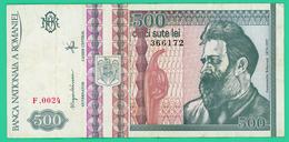 500 Lei -  Roumanie - N°. 366172 - F.0024 - 1992 - TTB+ - - Roumanie