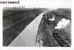 VROENHOVEN CANAL TRANCHEE TRAIN LOCOMOTIVE CHANTIER TRAVAUX PUBLIC CONSTRUCTION GENIE CIVIL Peniche Camion Bulldozer - Riemst