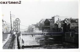 BRUXELLES PONT DES HOSPICES 1947 CHANTIER TRAVAUX PUBLIC CONSTRUCTION GENIE CIVIL GRUE - Corsi