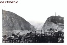 LANAYE VROENHOVEN MEUSE HEER CANAL TRANCHEE CHANTIER TRAVAUX PUBLIC CONSTRUCTION GENIE CIVIL Peniche - Belgium
