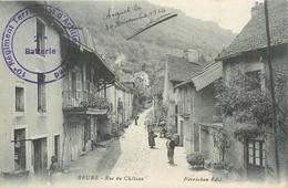25 BEURE  Rue Du Château Cachet Militaire 10 Rég. Terr. D'artillerie  2scans - France