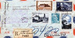 Liaison Paris-Mexico 27/04/1952 - Air France - Marcophilie (Lettres)