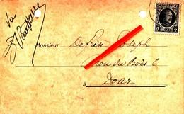 """""""Consultation Du Docteur Vanhassel Au 92, Rue Grande Pâturages"""" Médecin Des Charbonnages Du Couchant De Mons - Cartes Postales"""