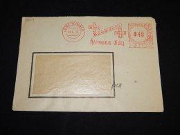 Germany 1948 Immendingen Hermann Götz Meter Mark Cover__(L-13609) - Deutschland