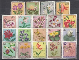 RUANDA Urundi 133-151,unused,flowers - Ruanda-Urundi