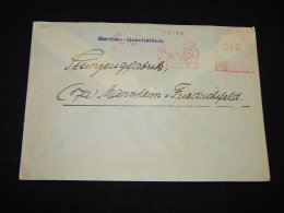 Germany 1948 Ludwigshafen Basf Meter Mark Cover__(L-12865) - Deutschland