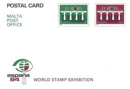 Malte Malta Entier Postal, Ganzsachen, Postal Stationery. Carte Postale Postkarte - Malta