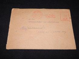 Germany 1948 Nurnberg Der Stadtra Meter Mark Cover__(L-12550) - Germany