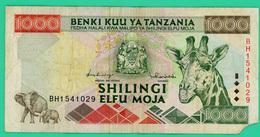 1000 Shilingi - Tanzanie - N° BH1541029 - TB - Petit Manque En Bas à Droite - - Tanzania