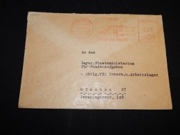Germany 1948 Wunsiedel Meter Mark Cover__(L-13553) - Autres