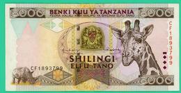 5000 Shilingi - Tanzanie - N° CF1893799 - Sup - - Tanzania