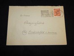 Germany Allied 1946 Heidelberg Slogan Cancellation Cover__(L-13630) - Gemeinschaftsausgaben