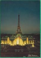 75 - Paris 16° - Les Fontaines Du Palais De Chaillot Et La Tour Eiffel - Editeur: Albert Monier N°10726 - Arrondissement: 16
