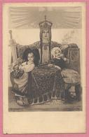 Alsace - Carte Signée Charles JORDAN - Bannière De STRASBOURG - Alsacienne - Enfant - Edit. MANIAS - STRASBOURG - Frankrijk