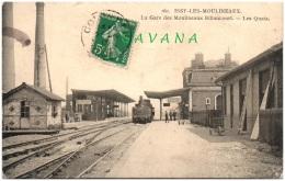 92 ISSY-les-MOULINEAUX - La Gare Des Moulineaux Billancourt - Les Quais - Issy Les Moulineaux