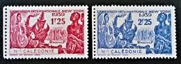 EXPO INTERNATIONALE DE NEW-YORK 1939 - NEUFS ** - YT 173/74 - MI 214/15 - BORDS DE FEUILLE - New Caledonia