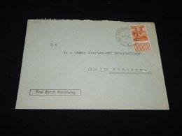Germany Allied 1948 Moosburg Frei Durch Ablösung Cover__(L-12513) - Gemeinschaftsausgaben