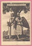 Alsace - Carte Signée Charles JORDAN - Chevaliers Du Moyen Age - Guerre 14/18 - Editeur MANIAS - STRASBOURG - Frankrijk
