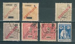 CONGO PORTUGAIS ; 1910-1914 ; Lot : 01 ; Neuf / Oblitéré - Congo Portugais