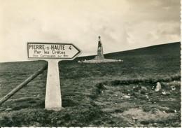 Paysages De L'Auvergne  Le Col Du Beal  Alt. 1.400m  Cpsm Format 10-15 - France