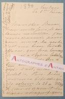 Frieda VON BULOW Femme De Lettres & Féministe Allemande - Londres 1880 - Lettre Autographe - Berlin Schloss Dornburg - Autographes