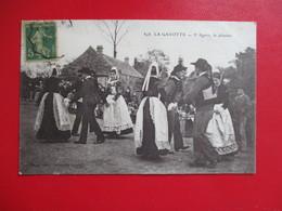 CPA 29 LA GAVOTTE BRETONNE DANSE LE JABADAO - France