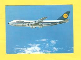 Postcard - Lufthansa   (V 33210) - 1946-....: Moderne