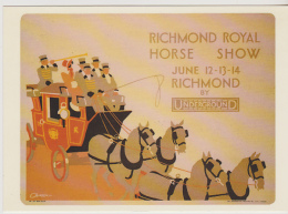 Postcard - Railway Poster - Richmond Royal Horse Show 1930 By C Burton - Card No. LTM 251 - New - Cartes Postales