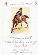 Pastrengo (VR)  2018 -  170° Anniversario Carica Dei Carabinieri A Cavallo -. - Patriottiche