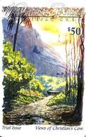 PITCAIRN ISLANDS $50 PALM TREE LANDSCAPE GPT PIT4 1000 ONLY !! ISSUED 1998 PLEASE READ DESCRIPTION !! - Pitcairn Islands
