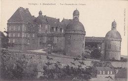 Hautefort (24) - Vue D'ensemble Du Château - France