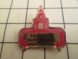 Pin511d Pin's Pins / Beau Et Rare : Thème VILLES / FAUBOURG ST PIERRE A PONTARLIER - Städte
