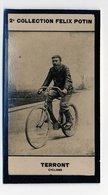 2e Collection Felix Potin - Ca 1920 - REAL PHOTO - Terront, Cyclisme (cycling) - Félix Potin