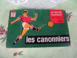 LES CANONNIERS - Jeu De Football De DUJARDIN Edmond 1965 S.G.D.G. Pas Courant - VOIR SCANS - Group Games, Parlour Games