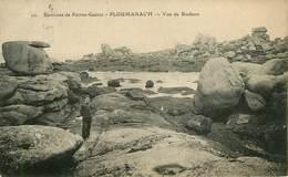 Dép 22 - Environs De Perros Guirec - Ploumanach - Ploumanac'h - Vue De Rochers - 2 Scans - état - Ploumanac'h