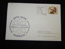 Germany BRD 1982 Hamburg Otto Hahn Cover__(L-15678) - [7] Repubblica Federale