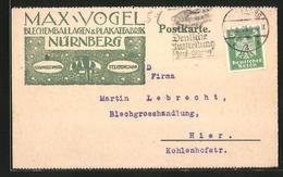 AK Nürnberg, Blechemballagen & Plakatefabrik Max Vogel - Nuernberg