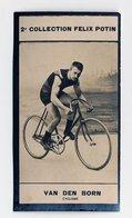 2e Collection Felix Potin - Ca 1920 - REAL PHOTO - Van Den Born, Cyclisme (cycling) - Félix Potin