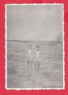 234478 / TWO NUDE Naked BOY BLACK SEA ,  Bulgaria Bulgarie Bulgarien Bulgarije - Persone Anonimi