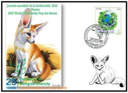 FDC-ALGERIA 2018 -the Fennec- Biodiversity Environment Biodiversität Biodiversité Biodiversidad - Félins