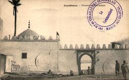 """Maroc - CASABLANCA - Marabout De Sidi-Bellout - Cachet """"10e Bataillon De Tirailleurs Sénégalais"""" - Casablanca"""