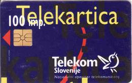 Slovenia,  Chip Card, - Slovénie
