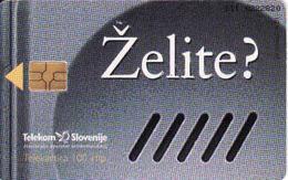 Slovenia,  Chip Card, Hockey - Slovénie