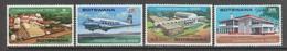 SERIE NEUVE DU BOTSWANA - INDEPENDANCE N° Y&T 167 A 170 - Botswana (1966-...)