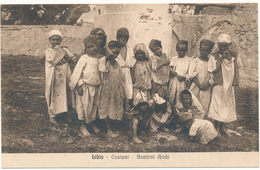 LIBIA - Costumi, Bambini Arabi - Libye