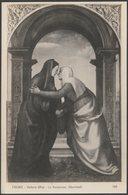 Albertinelli - La Visitazione, Galleria Uffizi, Firenze, C.1910s - Foto Cartolina - Paintings