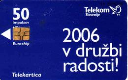 Slovenia,  Telekom Chip Card, - Slovénie